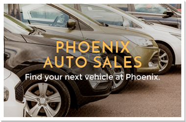 Graphic link to Phoenix Car Sales information
